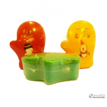 4PCS CARTOON BOWL SET LUNCH BOX ORANGE 10049125 8992017312547