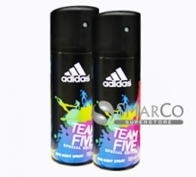 ADIDAS SPRAY TEAM FIVE 150 ML 3607346550922