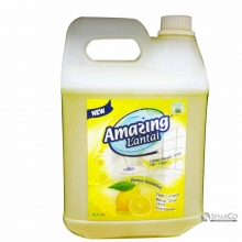 AMASING FLOOR CLEANER GREEN TEA JERIGEN 4 LTR