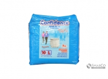 CONFIDENCE CONFIDENCE ADULT PANTS L PACK 10 SHEET 1011050010003 8992959850053