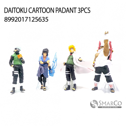 DAITOKU CARTOON PADANT 3PCS 8992017125635