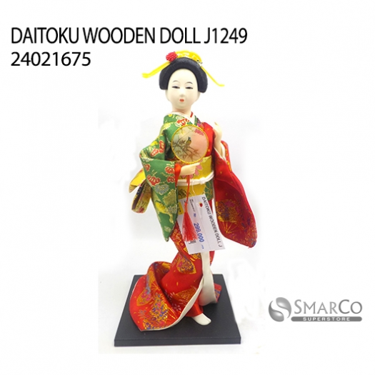 DAITOKU WOODEN DOLL J1249 24021675