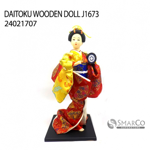 DAITOKU WOODEN DOLL J1673 24021707