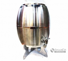 DRUM WINE S.STEEL 8L NO. 126 (389 D-12 3034090050020 24347016