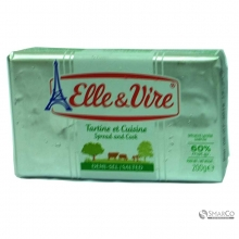 ELLE & VIRE BUTTER SALTED SPREAD &COOKING 200 GR	3451790562990 1017030010011