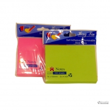 FLUORESCENT PAPER STICKY NOTE10006236 76 X 101 2024010010584 8992017305808