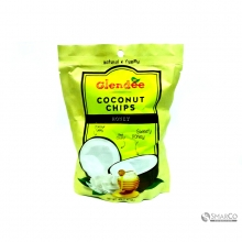 GLENDEE COCONUT CHIPS HONEY 8858358009952 1014160021211