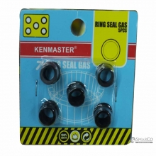 KENMASTER KARET SEAL TABUNG GAS 5 PC 3032100040003 4719930050455