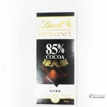 LINDT EXCELLENCE DARK COCOA 85% 100 GR 3046920028363
