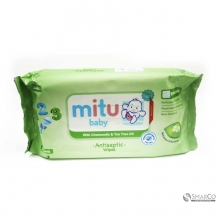 MITU BABY ANTISEPTIC WIPES 50`S 1015030080082 8992745550532