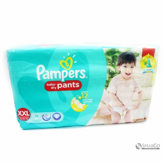 PAMPERS BABY DRY PANTS XXL 38 1015020010117 4902430635400