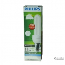 PHILIPS ESSENTIAL 11W CDL E27 220-240V 1CT12 KOTAK 3032120010012 8718291791911