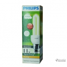 PHILIPS ESSENTIAL 11W WW E27 220-240V 1CT12 KOTAK 3032120010013 8718291791898