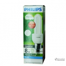 PHILIPS ESSENTIAL 8W CDL E27 220-240V 1CT12 KOTAK 3032120010022 8718291791874