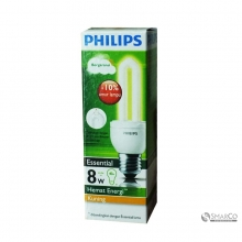 PHILIPS ESSENTIAL 8W WW E27 220-240V 1CT12 KOTAK 3032120010023 8718291791850