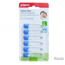 PIGEON SAFETY PIN L 6`S 6061010060016 4902508108812