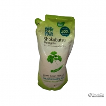 SHOKUBUTSU MONOGATARI SHOWER CREAM GINKGO 500 ML 8850002024588 1015040010825