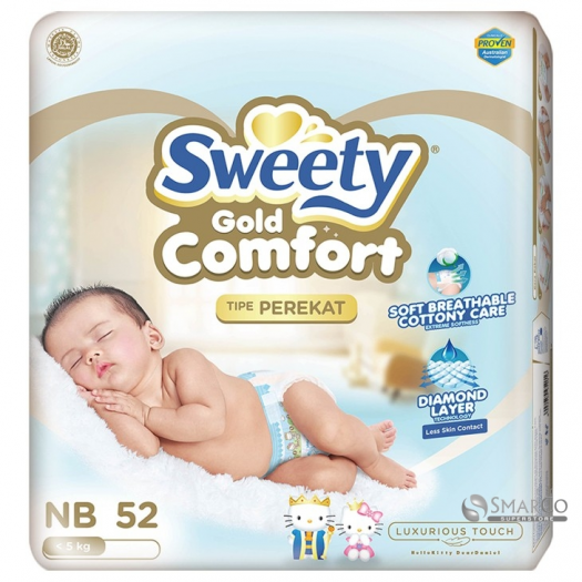 SWEETY COMFORT GOLD NEW BORN ISI 52 8992959952016