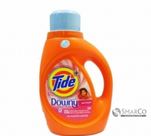 TIDE LIQ LAUDRY DETERGENT HE WITH DOWNY APRIL FRESH 037000874720