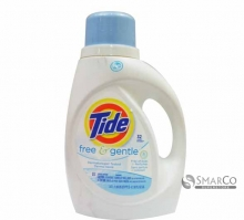 TIDE LQ 2X FREE & GENTLE 50 OZ 037000138860