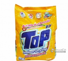TOP DETERGENT POWDER ANTI BACTERI 2.5 KG 8888300300332