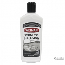 WEIMAN STAINLESS SINK CLEANER 237 ML 041598000683