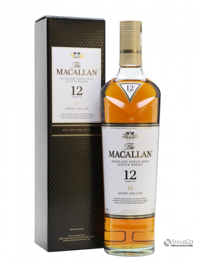 MACALLAN 12 YO SHERRY OAK CASK 750 ML 812066020553
