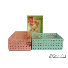 ABS HOLLOW GREEN PLASTIC STORAGE BOXGREEN 10063238 8992017310871