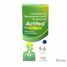 ACTIFED PLUS EXPECTORANT (HIJAU) PCS 120 1016020030002 8993478101114