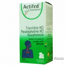 ACTIFED PLUS EXPECTORANT  (HIJAU) PCS 60 ML 8993478101077