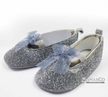 BABY SHOES SEPATU BABY SILVER DLITER 2460002709