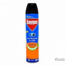 BAYGON AEROSOL NATURAL ORANGE 600 ML 1011040020038 8998899400334