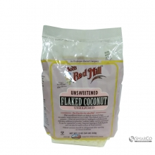 BOBS RED MILL COCONUT FLAKE UNSWEETENED 12 OZ 039978015815