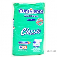 CONFIDENCE CLASSIC ADULT DIAPERS XL 6`S 1011050010043 8992959930120