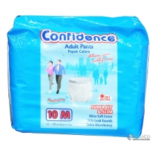 CONFIDENCE CONFIDENCE ADULT PANTS M PACK 10 SHEET 1011050010004 8992959850046