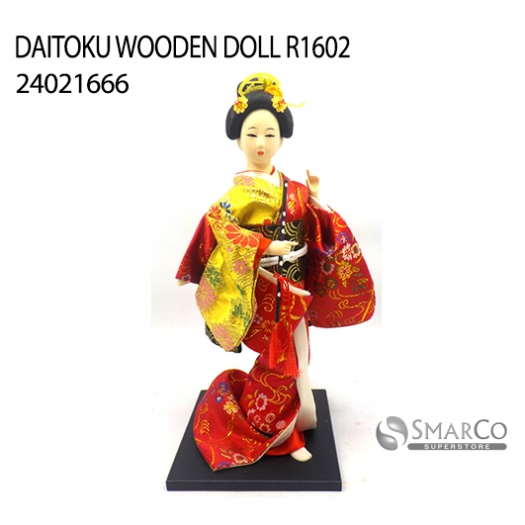 DAITOKU WOODEN DOLL R1602 24021666