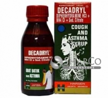 DECADRYL SYRUP 120 ML 8997011200067