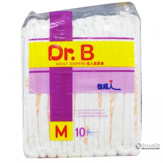 DR.B ADULT DIAPERS M 10 SHEET 1011050010002 4897016850639