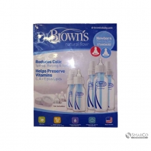 DR.BROWN PP NEWBORN FEEDING SET 6061010040120 072239002407