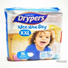 DRYPERS XX-LARGE BUNGKUS 16 SHEET 1015020010011 9557327001674
