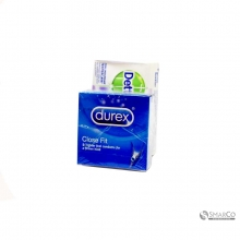 DUREX CLOSE FIT  3 PK X 24 1016070020004 5038483223444