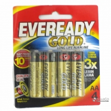 EVEREADY A91 AA BP 4 GOLD 3032090040001 8999002692226