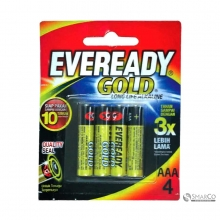 EVEREADY A92 AAA BP4 GOLD 3032090040004 8999002692325