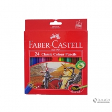 FABER CASTLE CLASSIC COLOUR PENCIL 24 L 3036030010018 4005401158547