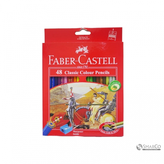 FABER CASTLE CLASSIC COLOUR PENCIL 48 L 3036030010020 4005401158585