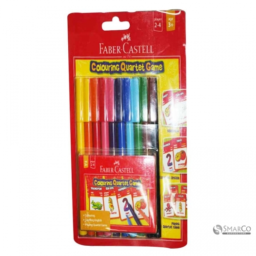 FABER CASTLE CONNECTOR PEN QUARTET GAME 3036030010024 4005401550525