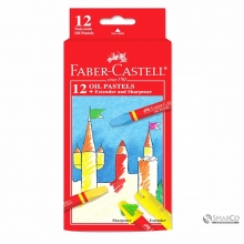 FABER CASTLE HEXAGONAL OIL PASTELL 12W 3036030010025 4005401200635