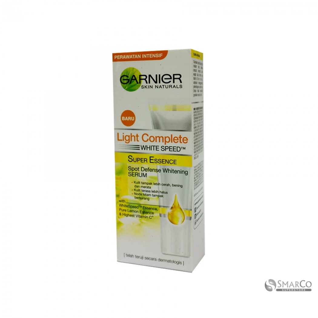 Detil Produk Garnier Light Complete White Speed Serum 10 Ml Paket 8992304055164