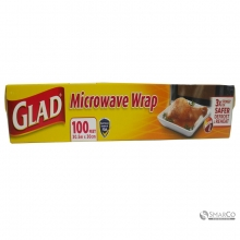 GLAD MICROWAVE WRAP 100 FT