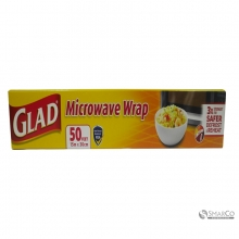 GLAD MICROWAVE WRAP 50FT
